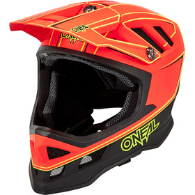 O'Neal Blade Hyperlite Casque, neon red